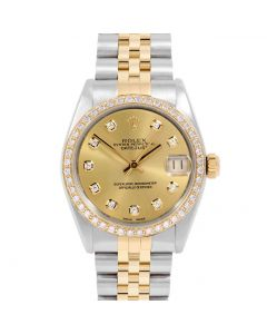 Rolex Datejust 31 mm Two Tone 6827-TT-C212-CD