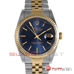Rolex Watch Datejust with Blue Face
