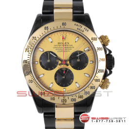 Rolex Watch Daytona Black DLC PVD